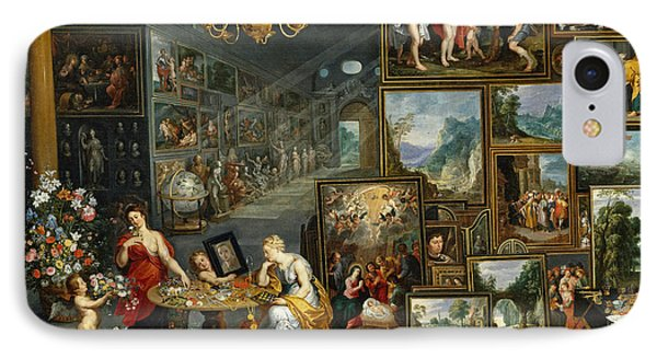 Sight And Smell IPhone Case by Jan Brueghel the Elder