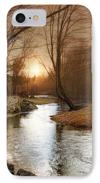 IPhone Case featuring the photograph Silence Is Golden by Robin-Lee Vieira