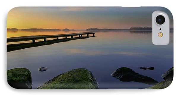 IPhone Case featuring the photograph Silence Lake by Franziskus Pfleghart