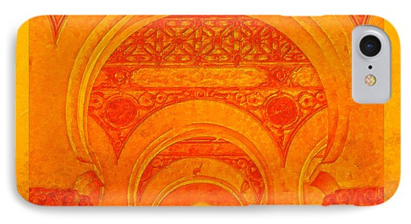 IPhone Case featuring the photograph Sinagoga De Santa Maria La Blanca by Nigel Fletcher-Jones