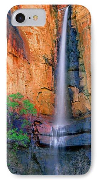 Sinawava Falls IPhone Case