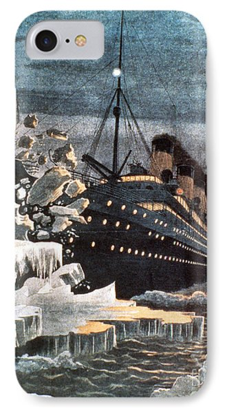 Sinking Of The Titanic Phone Case by Granger