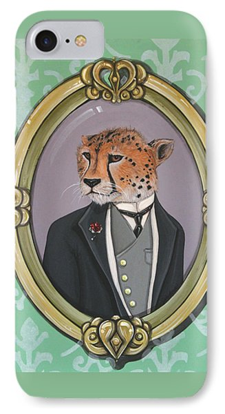 Sir Pettingwise IIi IPhone Case