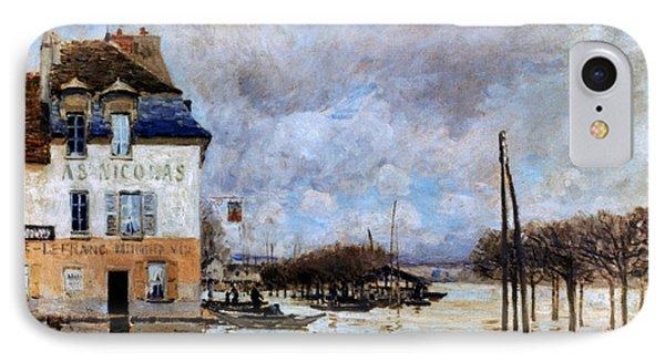 Sisley: Flood, 1876 Phone Case by Granger