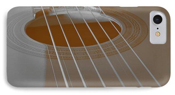 Six Guitar Strings IPhone Case