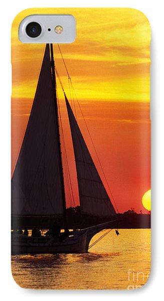 Skipjack At Sunset IPhone Case