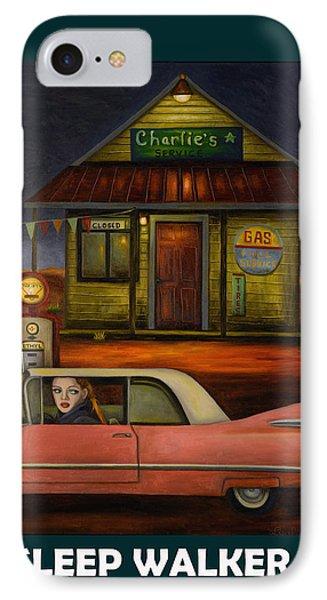 Sleep Walker 2 IPhone Case by Leah Saulnier The Painting Maniac