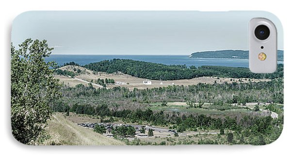 IPhone Case featuring the photograph Sleeping Bear Dunes National Lakeshore by Alexey Stiop