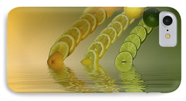 IPhone Case featuring the photograph Slices  Grapefruit Lemon Lime Citrus Fruit by David French