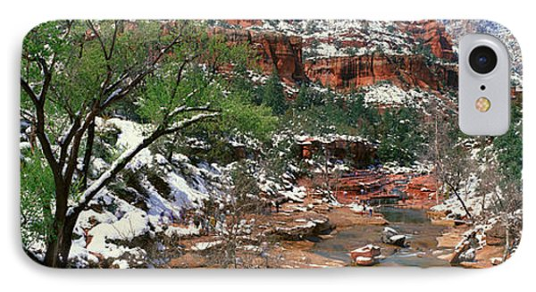 Slide Rock Creek In Wintertime, Sedona IPhone Case