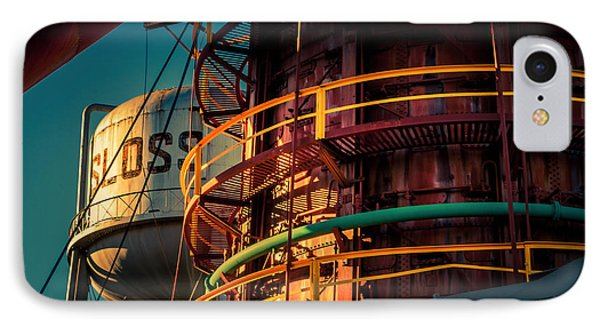 Sloss Furnaces Phone Case by Phillip Burrow