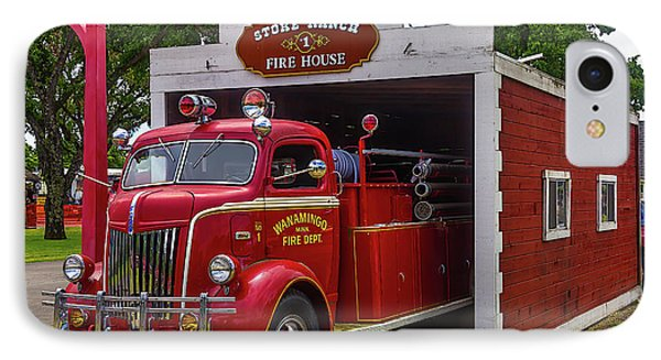 Small Fire House 1 IPhone Case by Garry Gay