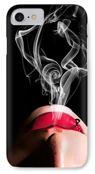 Smoke IPhone Case by Tbone Oliver