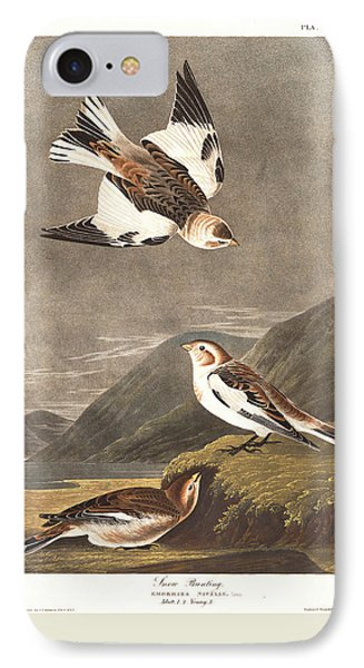 Snow Bunting IPhone 7 Case