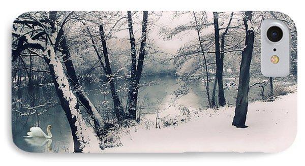 Snow Pond IPhone Case by Jessica Jenney