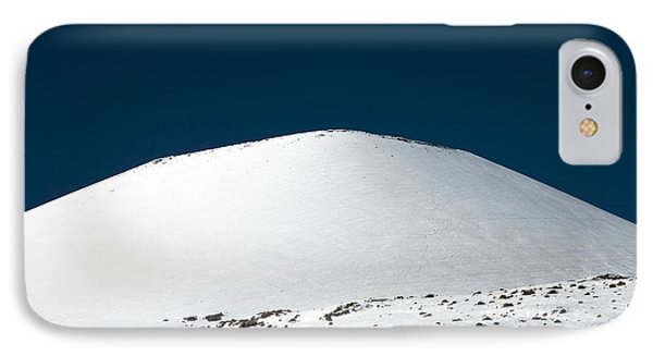 Snowy Mauna Kea Phone Case by Peter French - Printscapes