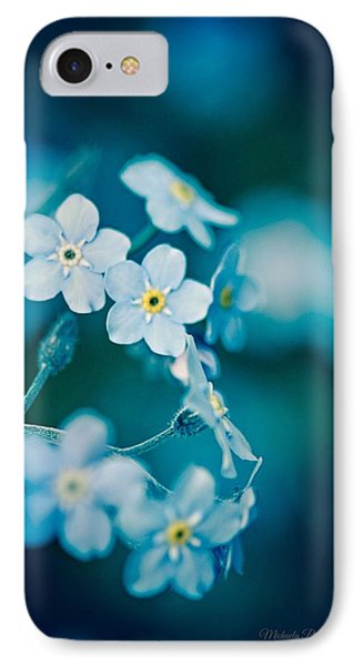 IPhone Case featuring the photograph Soft Blue by Michaela Preston