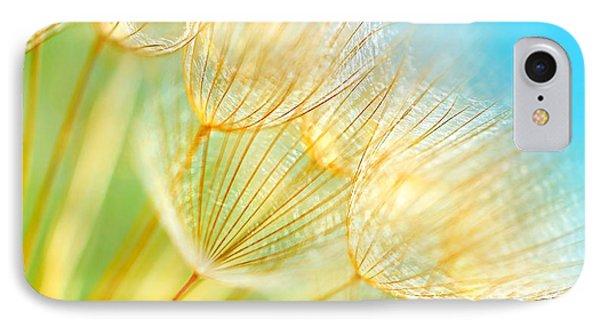 Soft Dandelion Flowers IPhone Case
