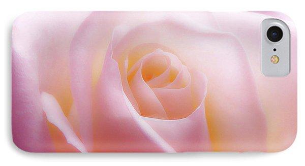 Soft Nostalgic Rose IPhone Case