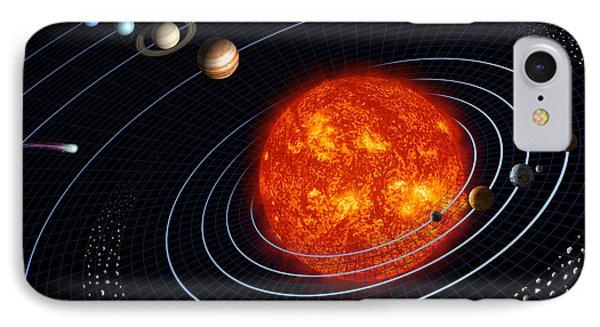Solar System Phone Case by Stocktrek Images