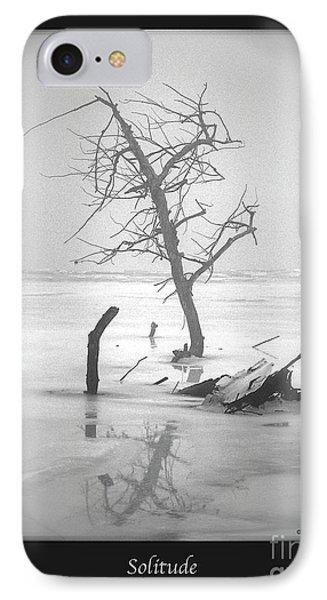 Solitude IPhone Case by Sue Stefanowicz