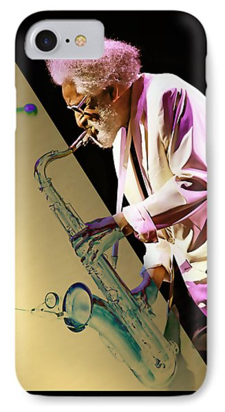Sonny Rollins Collection IPhone Case by Marvin Blaine
