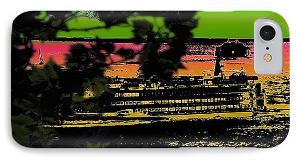 Soundside Treehouse View Phone Case by Tim Allen