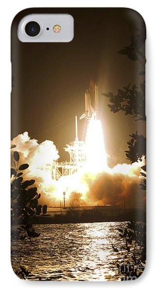 Space Shuttle Endeavour Liftoff Phone Case by Stocktrek Images