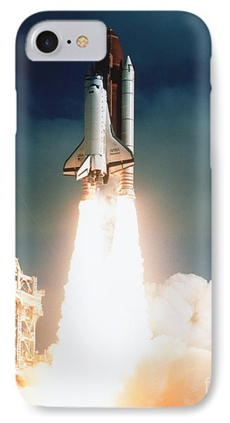 Space Shuttle Launch IPhone Case by NASA Science Source