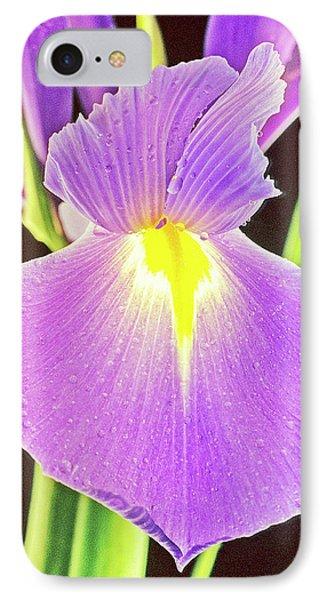 Spanish Iris IPhone Case