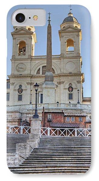 spanish steps in Rome Phone Case by Joana Kruse