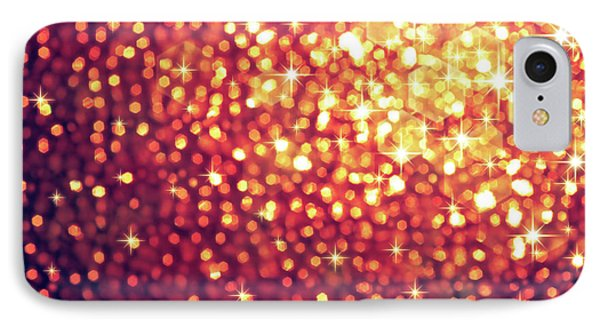 Sparkling Lights IPhone Case by Carlos Caetano