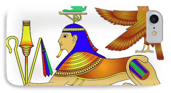Sphinx - Mythical Creatures Of Ancient Egypt Phone Case by Michal Boubin