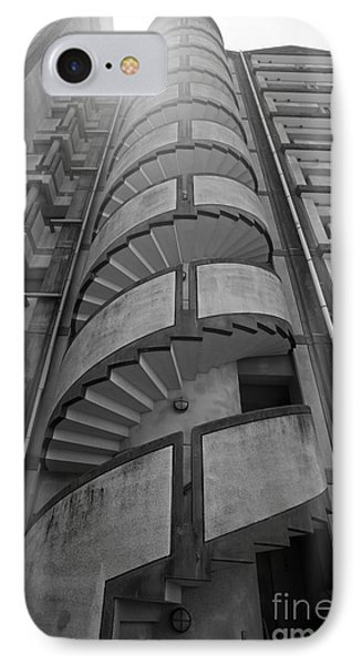 IPhone Case featuring the photograph Spiral Staircase by Aiolos Greek Collections