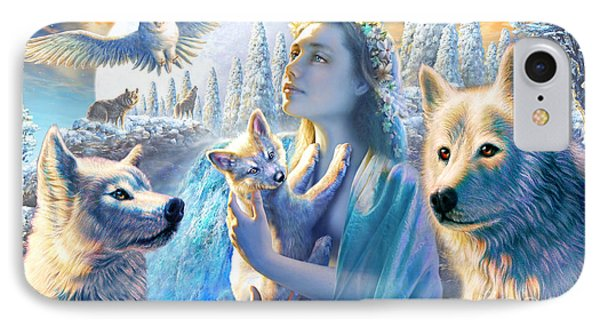 Spirit Of The Mountain IPhone Case by Adrian Chesterman