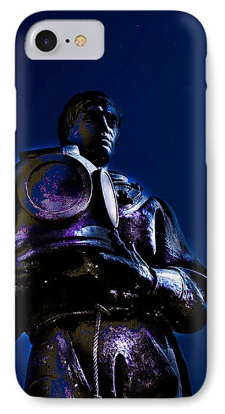 IPhone Case featuring the photograph Sponge Diver by Randy Sylvia