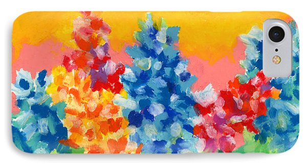 IPhone Case featuring the painting Spring Wildflowers by Stephen Anderson