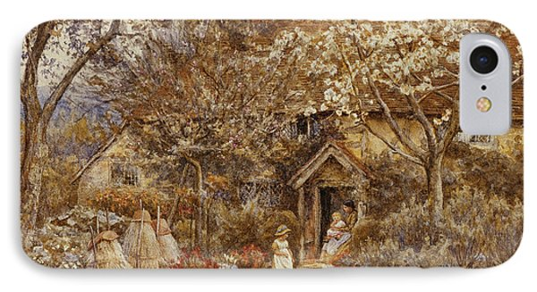 Springtime IPhone Case by Helen Allingham