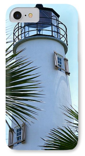 St. George Island Lighthouse IPhone Case