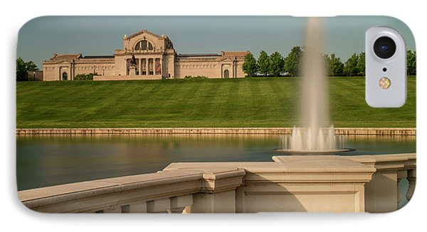 St Louis Art Museum In Forest Park IPhone Case by Garry McMichael