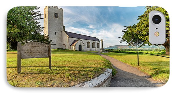 St Marcellas Church IPhone Case by Adrian Evans