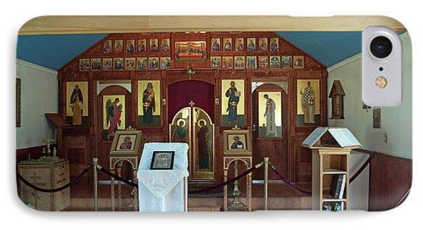 St Nicholas Russian Orthodox Church IPhone Case by Cathy Mahnke