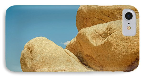 Stacked Boulders Joshua Tree IPhone Case by Amyn Nasser