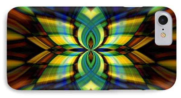 IPhone Case featuring the photograph Stained Glass by Cherie Duran