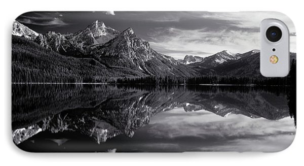 Stanley Lake IPhone Case by Leland D Howard