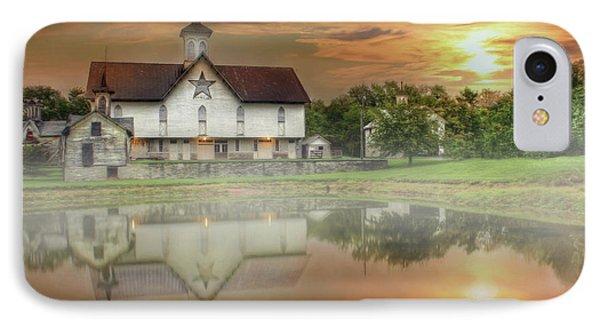Star Barn Sunrise IPhone Case