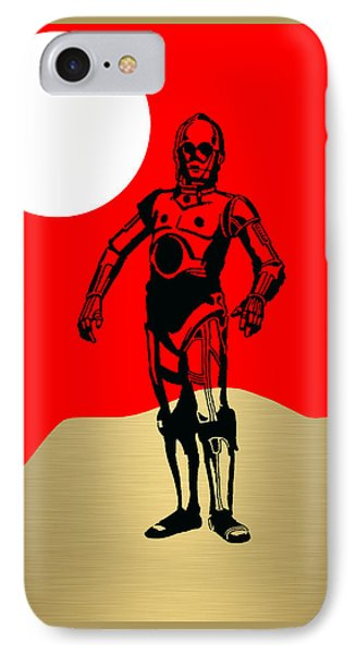 Star Wars C-3po Collection IPhone Case