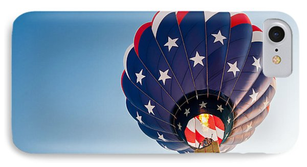 Stars And Stripes Above IPhone Case by Todd Klassy