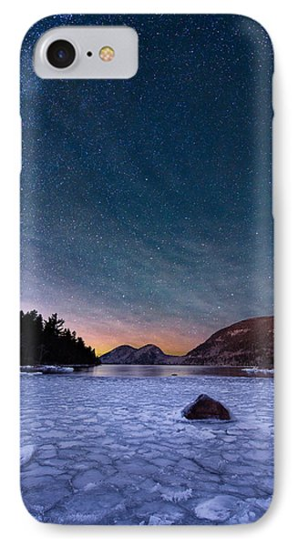 Stars On Ice IPhone Case by Michael Blanchette