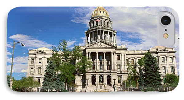State Capitol Of Colorado, Denver IPhone Case by Panoramic Images